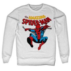 Sweat The Amazing Spiderman de couleur Blanc