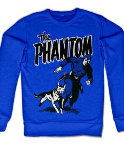 Sweat The Phantom & Devil de couleur Bleu
