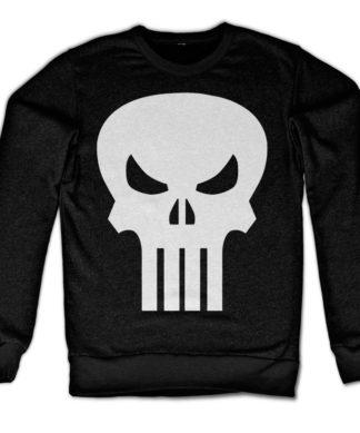 Sweat The Punisher Skull de couleur Noir