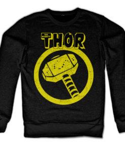 Sweat Thor Hammer de couleur Noir