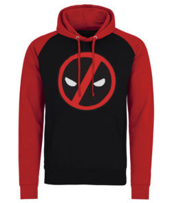 Sweatshirt à capuche Deadpool Icon de couleur Noir/Rouge