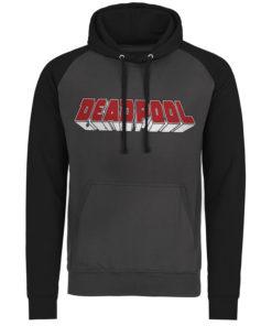 Sweatshirt à capuche Deadpool Logo de couleur
