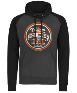 Sweatshirt à capuche Gas Monkey Garage Custom Hot Rods de couleur