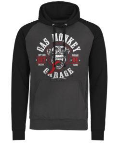 Sweatshirt à capuche Gas Monkey Garage Round Seal de couleur