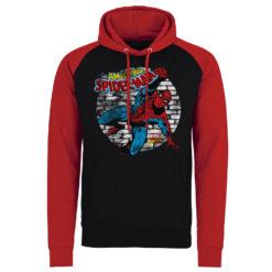 Sweatshirt à capuche Marvel Comics - Spider-Man de couleur Noir/Rouge