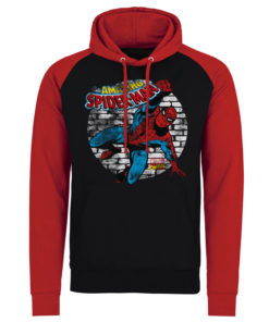 Sweatshirt à capuche Marvel Comics - Spider-Man de couleur Noir/Rouge