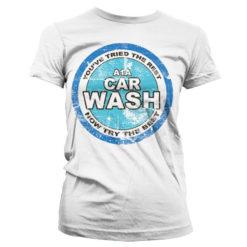 T-Shirt A1A Car Wash pour Femme de couleur Blanc