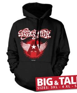 T-shirt Aerosmith Flying A Logo grandes Tailles de couleur Noir