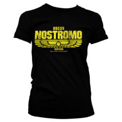 T-Shirt Aliens - USCSS Nostromo pour Femme de couleur Noir