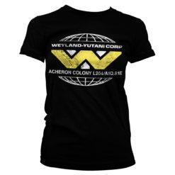 T-Shirt Aliens - Wayland-Yutani Corp. pour Femme de couleur Noir