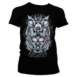 T-Shirt Aquaman - Atlantis pour Femme de couleur Noir