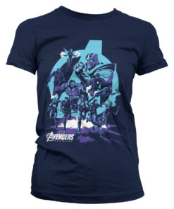 T-Shirt Avengers - Thanos Grip Endgame pour Femme de couleur