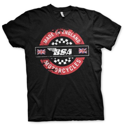 T-Shirt Moto BSA noir