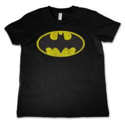 T-Shirt Batman Logo  pour enfant de couleur Noir