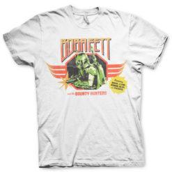 T Shirt Boba Fett And The Bounty Hunters de couleur Blanc