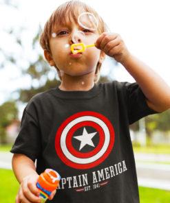 T-shirt Captain America pour enfant