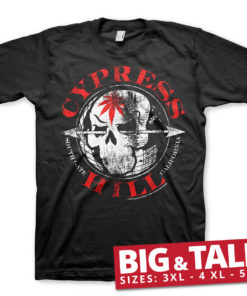 T-shirt Cypress Hill South Gate - California grandes Tailles de couleur Noir