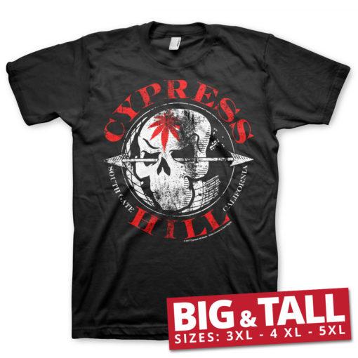 T-shirt Cypress Hill South Gate - California grandes Tailles de couleur Noir