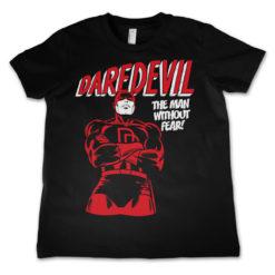T-Shirt Daredevil  pour enfant de couleur Noir