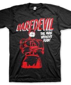 T-shirt Daredevil grandes Tailles de couleur Noir