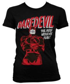 T-Shirt Daredevil pour Femme de couleur Noir