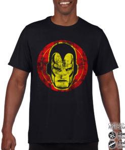 T-Shirt de sport Iron Man Icon anti-transpi pour homme de couleur Noir