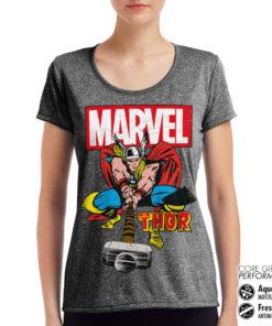 T-Shirt de sport The Mighty Thor pour femme de couleur