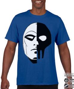 T-Shirt de sport The Phantom Icon Head anti-transpi pour homme de couleur Bleu