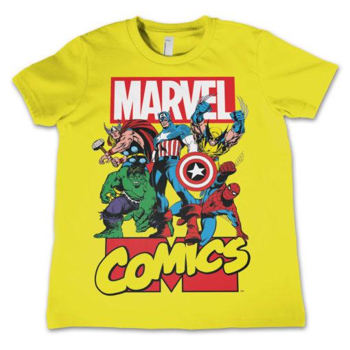 T-shirt Marvel enfant (jaune)