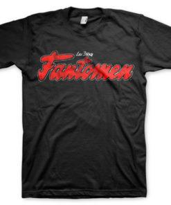 T-shirt Fantomen Logo grandes Tailles de couleur Noir