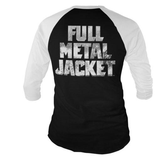 Dos du t-shirt Full MEtal Jacket manches longues 3/4 pour homme