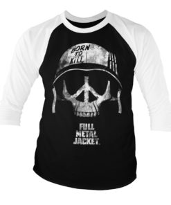 T-shirt Full MEtal Jacket manches longues 3/4 pour homme