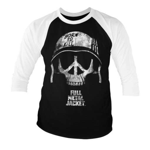 T-shirt Full MEtal Jacket manches longues 3/4 pour homme