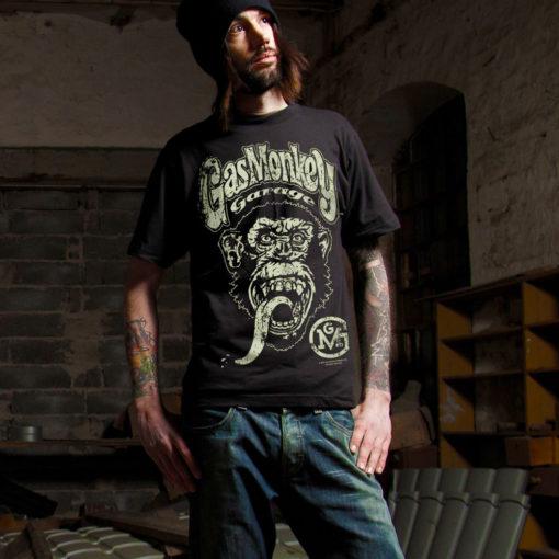 T-shirt Gas Monkey Garage pour homme