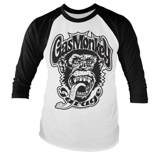 T-shirt Gas Monkey Garage à manches longues