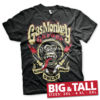 T-shirt Gas Monkey Garage - Spark Plugs grandes Tailles de couleur Noir