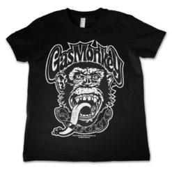 T-Shirt Gas Monkey Logo  pour enfant de couleur Noir