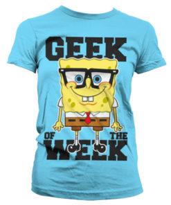 T-Shirt Geek Of The Week pour Femme de couleur Bleu Ciel