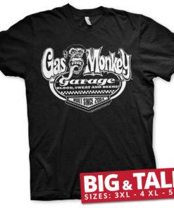 T-shirt GMG - Built Since 2004 grandes Tailles de couleur Noir