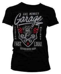 T-Shirt GMG - Fast'n Loud pour Femme de couleur Noir