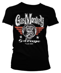 T-Shirt GMG Flying High pour Femme de couleur Noir