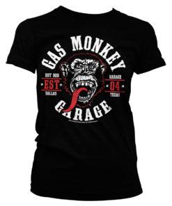 T-Shirt GMG Round Seal pour Femme de couleur Noir