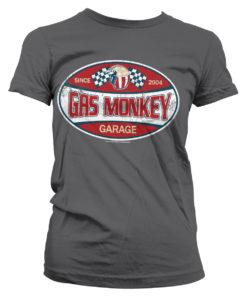 T-Shirt GMG Since 2004 Label pour Femme de couleur Gris Foncé