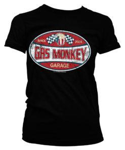 T-Shirt GMG Since 2004 Label pour Femme de couleur Noir