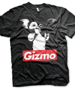 T-Shirt Gremlins GIZMO de couleur Noir
