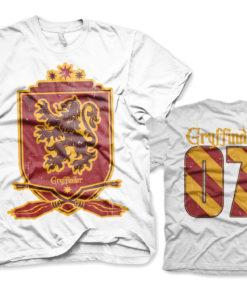 T-Shirt Harry Potter - Gryffindor 07 de couleur Blanc
