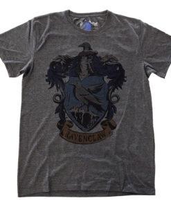 T Shirt Harry Potter - Ravenclaw Dyed de couleur Gris Sombre