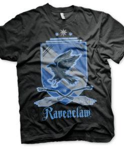 T-Shirt Harry Potter - Ravenclaw de couleur Noir