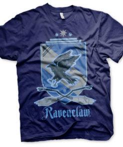 T-Shirt Harry Potter - Ravenclaw de couleur Bleu Nuit