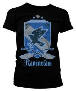 T-Shirt Harry Potter - Ravenclaw pour Femme de couleur Noir